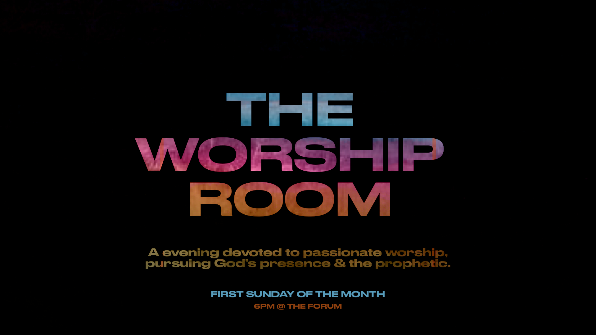 The Worship Room